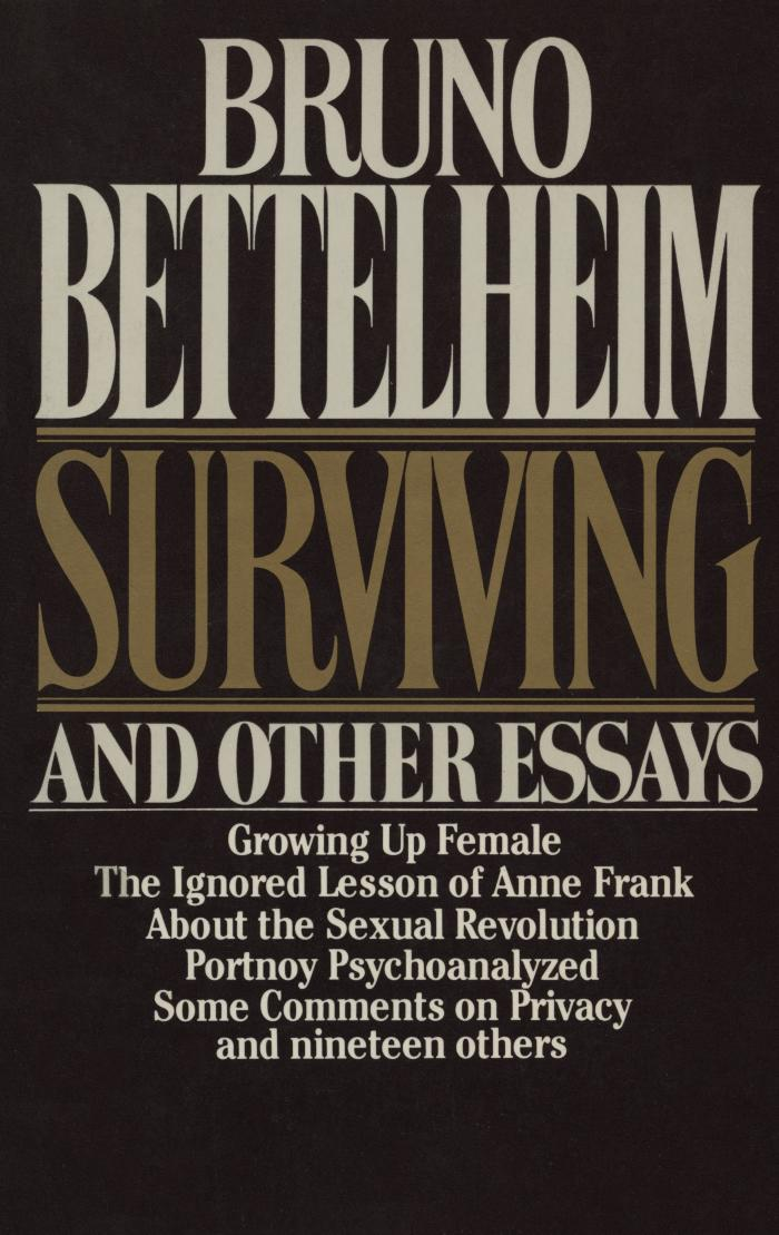 Surviving and other essays