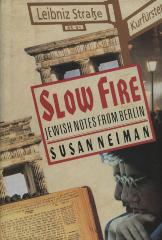 Slow fire : Jewish notes from Berlin