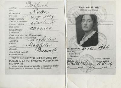 [Copy of Romanian identity card]