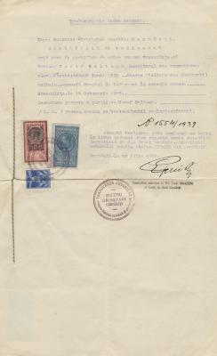 Certificat de indigenat