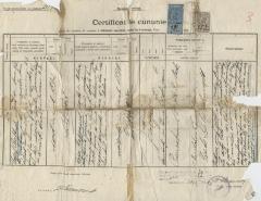Certificat de cununie