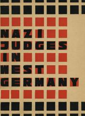 Nazi judges in West Germany