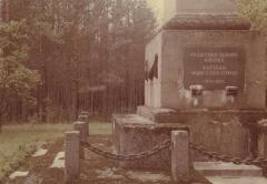 [Photograph of monument at Ponary]