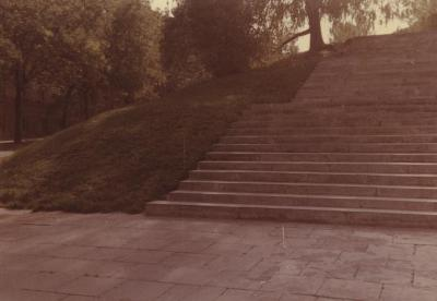 [Photograph of steps in Vilna]