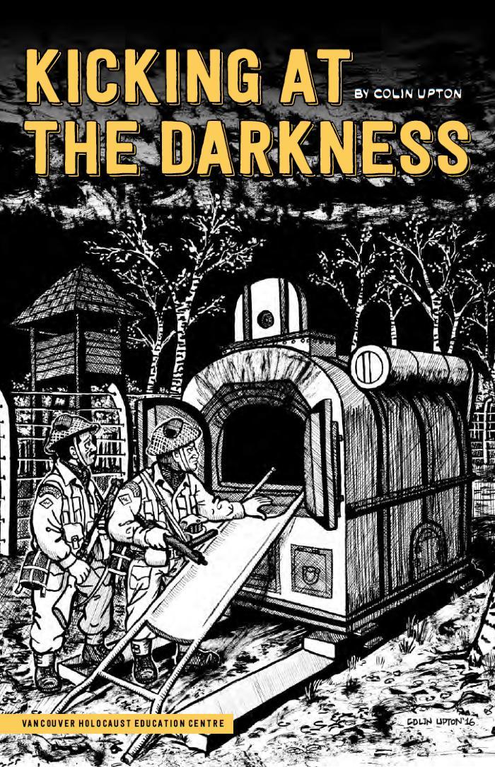 Kicking at the darkness