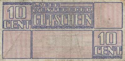 10-cent coupon from Westerbork