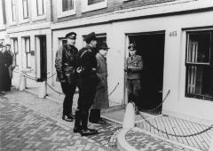 [Arrest of suspect by German Security Services]