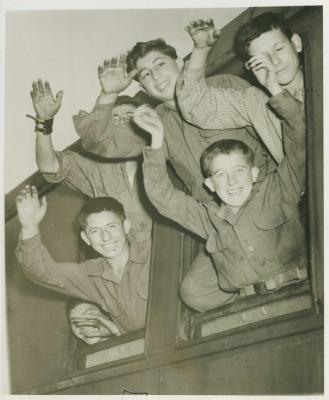 Freed from Buchenwald, to France