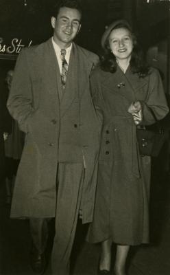 [Regina Feldman and Murray Kenig]