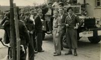 [Jewish police in Bergen-Belsen]