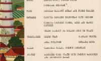 [Lunch menu from the S.S. General Gordon]