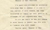 Letter from Anderlecht to Herman Teitelbaum
