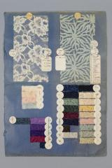 Lace samples from M. Meyer & Company