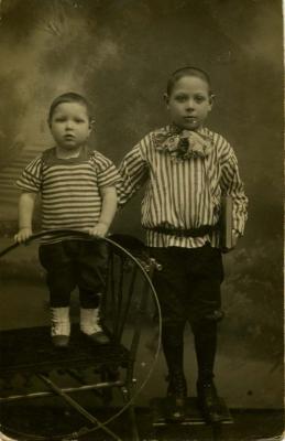[Photograph of Abrasha's cousins]