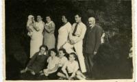 [Photograph of Krizowski family]