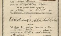 Erstes Österreichisches Spezialinstitut für Technische Wissenschaften Zeugnis