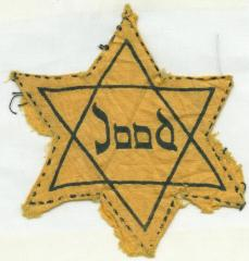 Star of David badge from the Netherlands