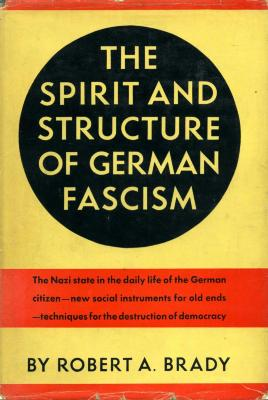 The spirit and structure of German fascism