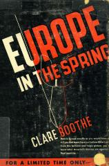 Europe in the spring