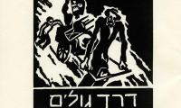 Derekh golim : 13 pituḥe-ʻets = The road of suffering : 13 woodcuts