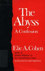 The abyss; a confession
