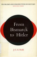 From Bismarck to Hitler: the problem of continuity in German history