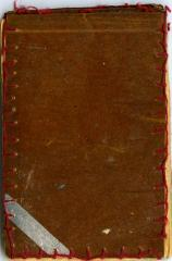Notebook with red thread