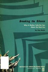 Breaking the silence : why a mother tells her son about the Nazi era