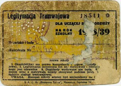 Legitymaja tramwajowa