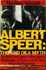 Albert Speer : the end of a myth