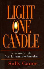 Light One Candle: A Child's Diary of the Holocaust