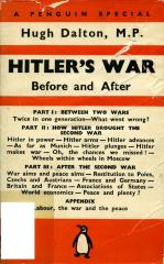 Hitler's war : before and after