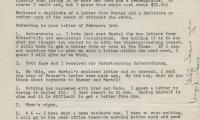 Letter to John Herbert from Ellen Song Herbert