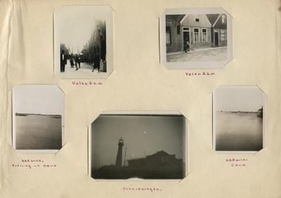Loose photograph album page [1 of 2]