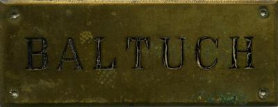 Baltuch plaque