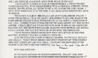Letter to Ellen Song from John Herbert
