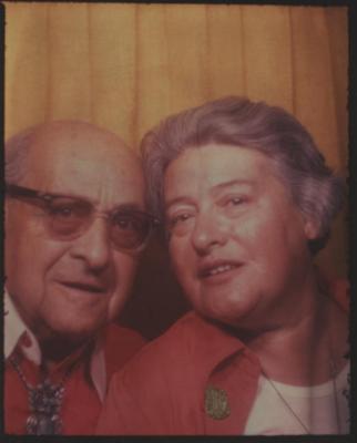 [Photograph of Bedrich and Gerda Eisinger]