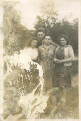Ellen, John, Frieda, Inge