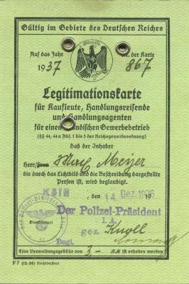 Legitimationskarte