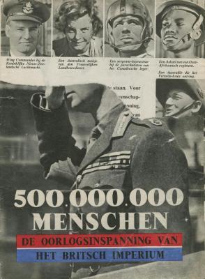 500.000.000 menschen : de oorlogsinspanning van het Britsch imperium