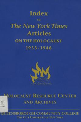 Index to The New York Times articles on the Holocaust, 1933–1948
