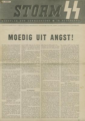 Storm : blad der Nederlandsche SS