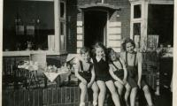 Pim and Roefke with Jan and Amalia