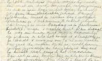 Letter written by Johanna van Kreveld
