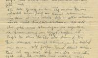 Letter to Gerda from Sigi