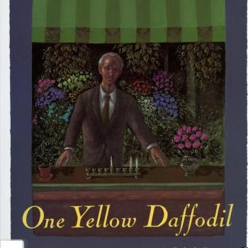 One yellow daffodil : a Hanukkah story