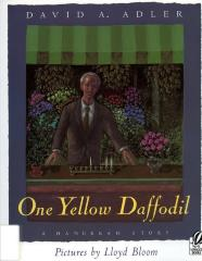 One yellow daffodil : a Hanukkah story