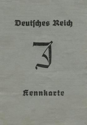 Deutsches Reich Kennkarte