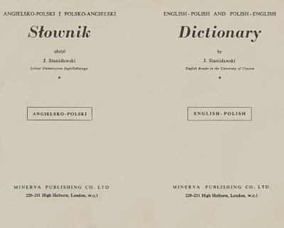 English-Polish and Polish-English dictionary