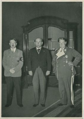 Besuch in der Reichskanzlei